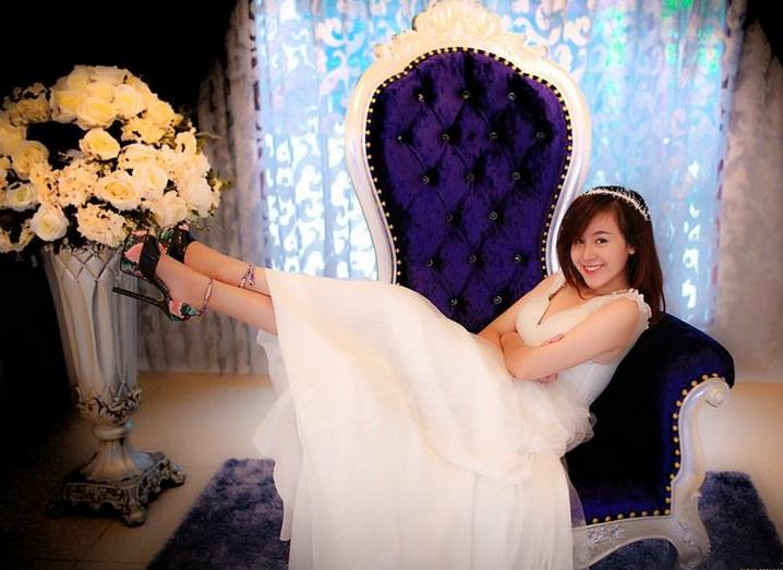 Bà Tưng chụp ảnh cưới chuẩn bị lên xe hoa? 10