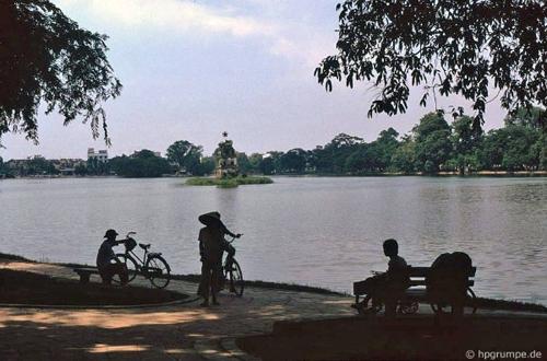 Bâng khuâng chùm ảnh Hà Nội đẹp thanh bình thập niên 90 8