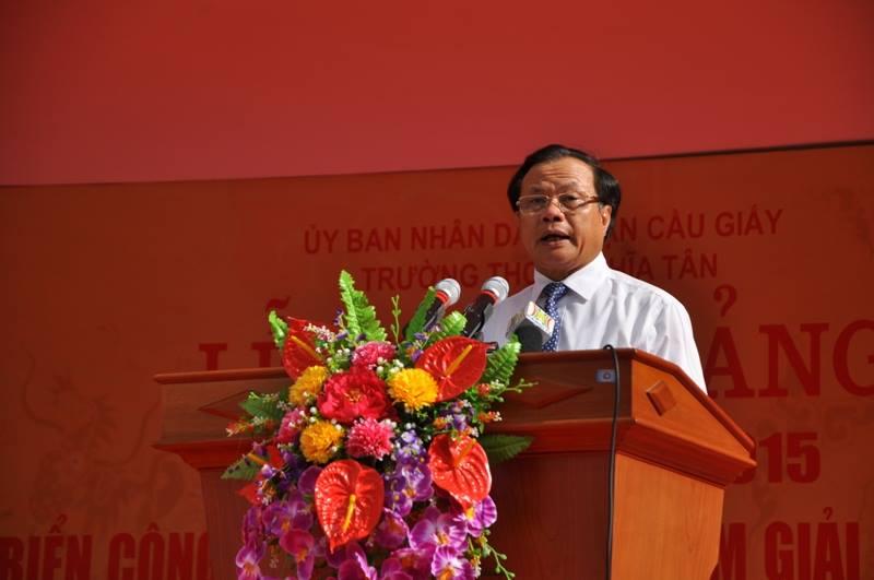 Lãnh đạo TP Hà Nội dự lễ khai giảng năm học mới 5