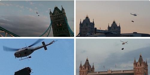 Người dân London sửng sốt khi nhìn thấy ô tô bay lượn trên trời 11