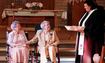 Cặp đôi đồng tính 90 tuổi tổ chức lễ cưới sau 72 năm chung sống 6