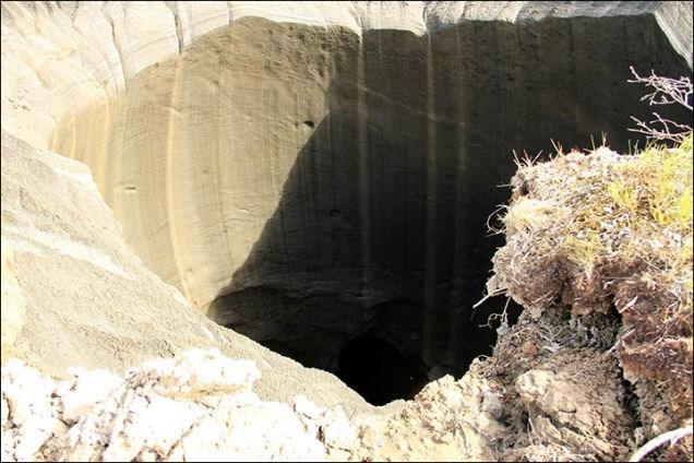 Phát hiện hố tử thần khổng lồ thứ 2 ở nơi tận cùng trái đất 8