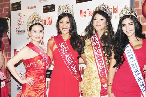 Hoa hậu quý bà Sương Đặng đọ sắc đẹp với quý bà Châu Á tại Mỹ 5