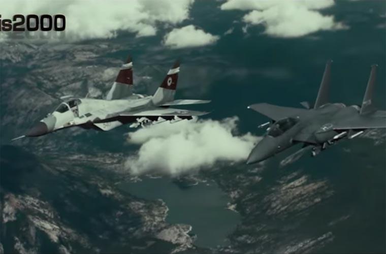 Xuất hiện đoạn phim MiG-29 Triều Tiên đánh tan tác F-15K Hàn Quốc 16