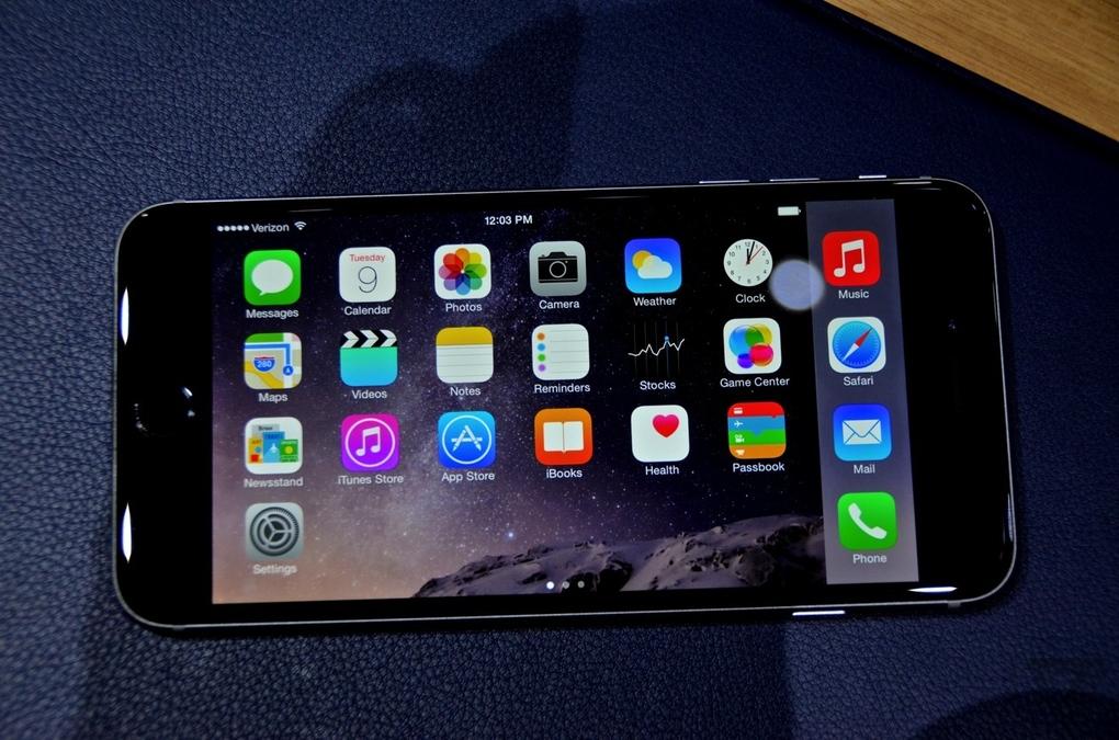 Trên tay iPhone 6 Plus: Kích thước siêu khủng 14