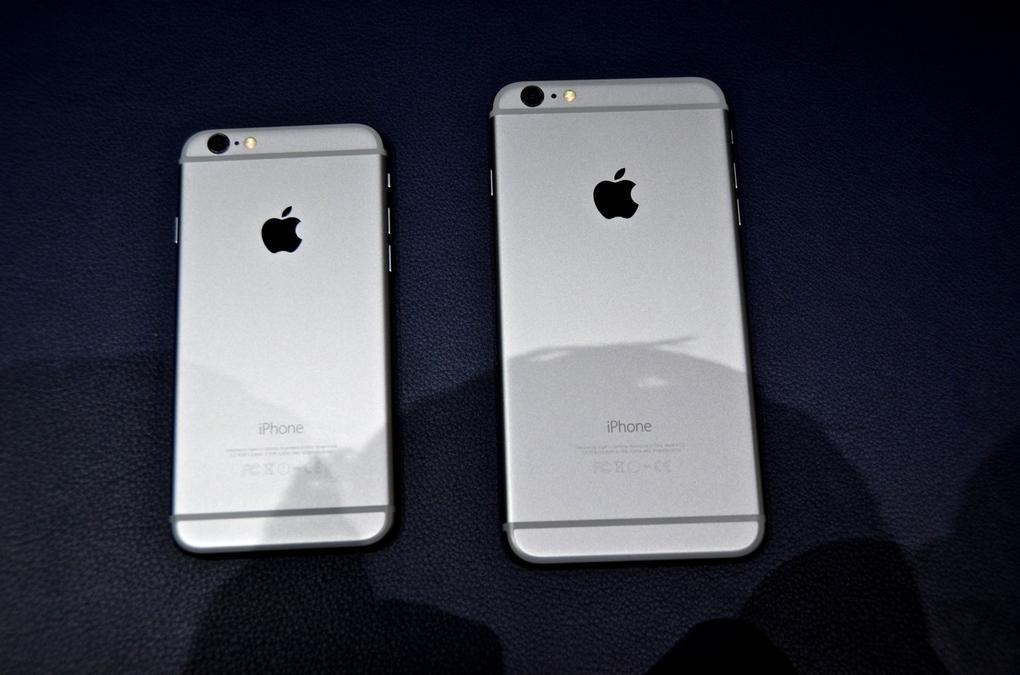 Trên tay iPhone 6 Plus: Kích thước siêu khủng 8