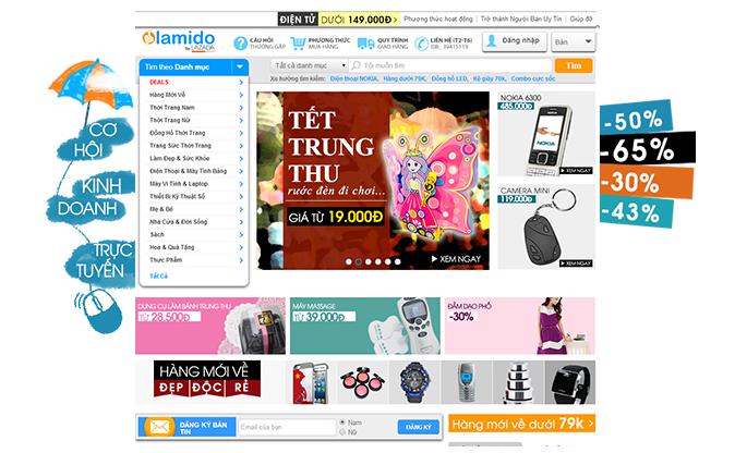 Mua sắm tiện ích với ứng dụng mobile Lamido.vn 1
