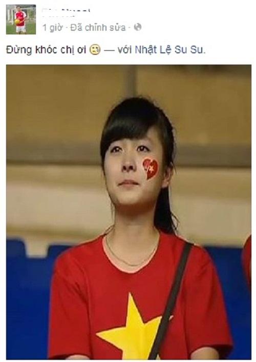 Nữ CĐV U19 Việt Nam khóc nức nở khi cúp vô địch được trao cho Nhật Bản 5