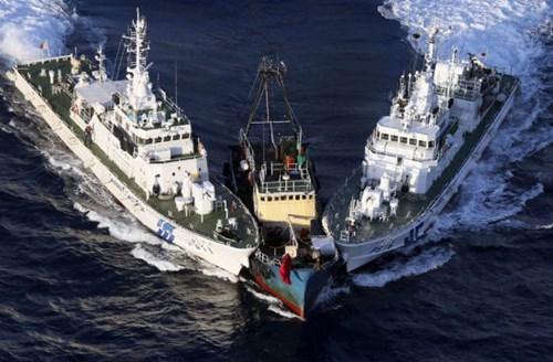 TQ rầm rộ điều hàng trăm tàu cá xâm nhập vùng biển đảo Senkaku/ Điếu Ngư 5