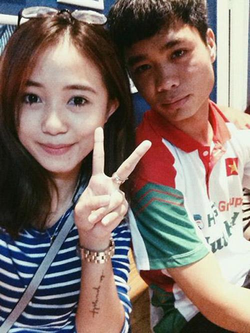 Hot girl Sa Lim khoe ảnh chụp cùng cầu thủ Công Phượng 6
