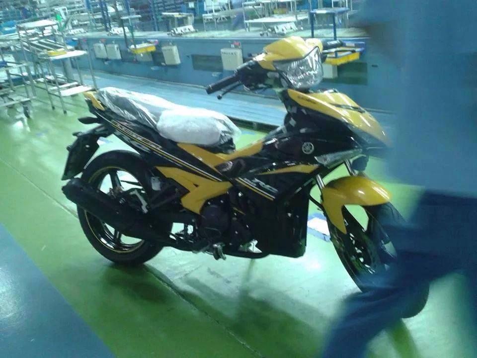 Yamaha Exciter 150 lộ hình ảnh tại dây chuyền lắp ráp 6