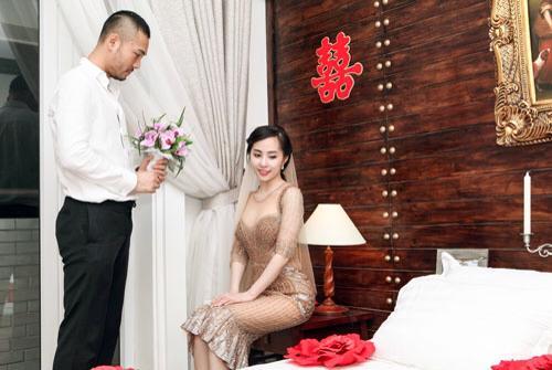 """""""Cá sấu chúa"""" Quỳnh Nga khoe dáng gợi cảm sau khi kết hôn 8"""