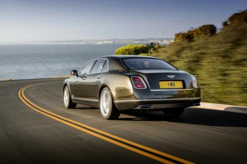 Hình ảnh Bentley Mulsanne Speed : Xe siêu sang nhanh nhất thế giới số 2