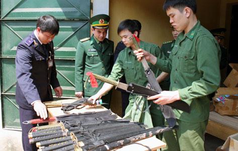 Biên phòng Tân Thanh: Cờ đầu ngăn buôn lậu 6