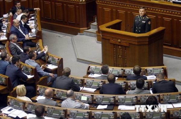 Ukraine trao quyền tự trị - cột mốc lịch sử cho miền Đông 5