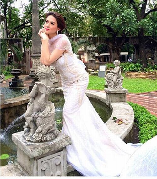 Mỹ nhân đẹp nhất Philippines - Marian Rivera lộ ảnh cưới lung linh 7
