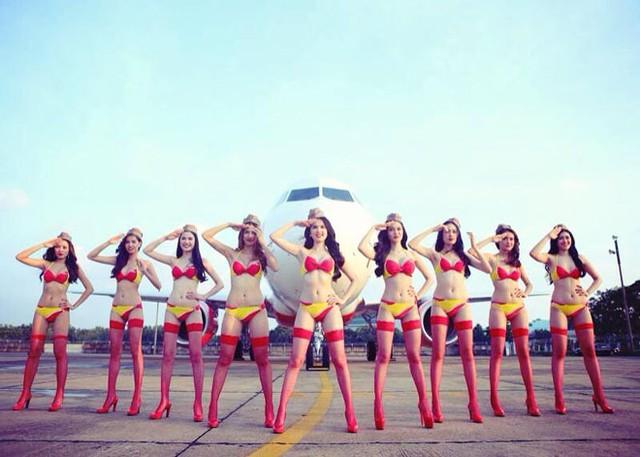 VietJet Air lên tiếng chuyện Ngọc Trinh chụp bikini trên máy bay 5