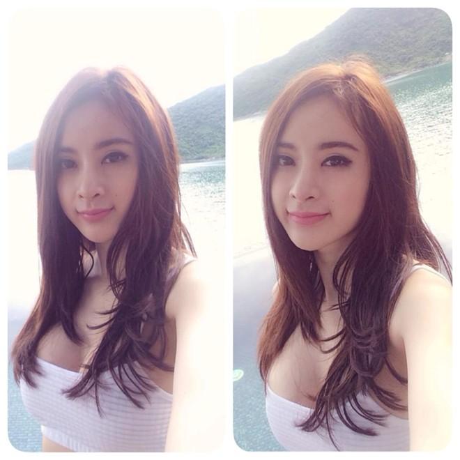 Angela Phương Trinh mặc bikini gợi cảm trên biển Đà Nẵng 7