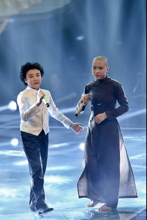 Giọng hát Việt nhí Liveshow 5: Cặp đôi hoàn hảo Thiện Nhân và Chí Công 9