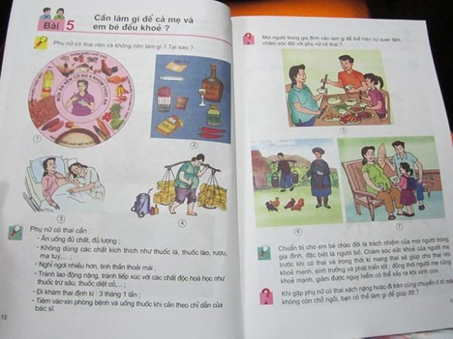 Sách lớp 5 dạy về phụ nữ mang thai: Đi ngược với chủ trương đổi mới 4