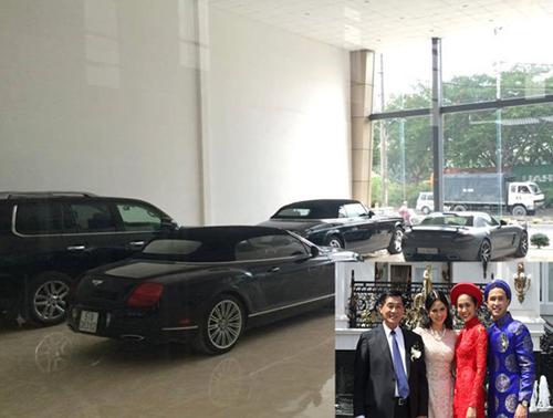 Choáng ngợp dàn siêu xe của nhà chồng Hà Tăng 5