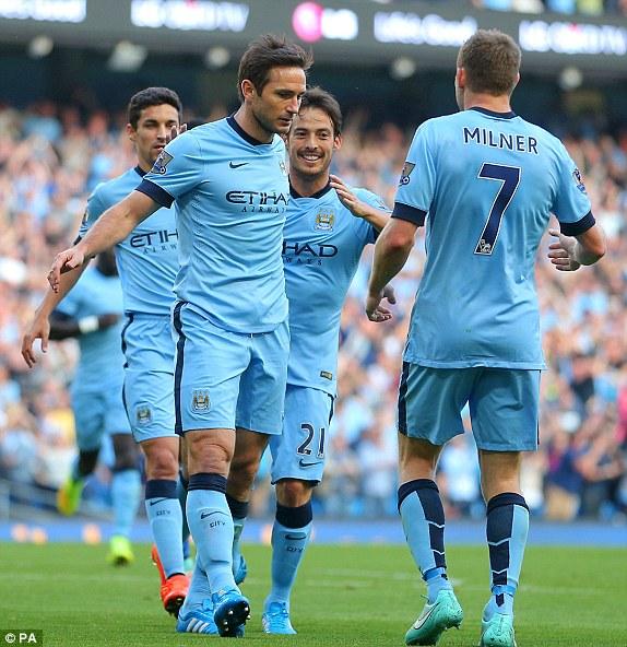 Hình ảnh Man City 1-1 Chelsea: Lampard gieo sầu cho cố nhân số 1