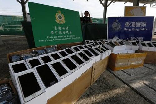 iFan Trung Quốc dùng iPhone 6 nhập lậu 7