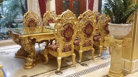 Ngỡ ngàng dinh thự dát vàng của đại gia Hà Thành 11