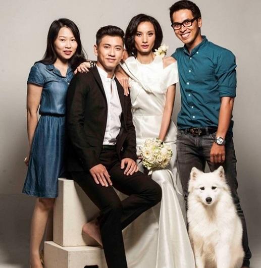 Hình ảnh Lộ loạt ảnh cưới đẹp lung linh của Lê Thúy và bạn trai Việt Kiều số 6