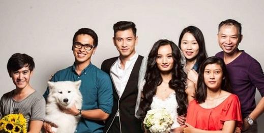 Lộ loạt ảnh cưới đẹp lung linh của Lê Thúy và bạn trai Việt Kiều 9