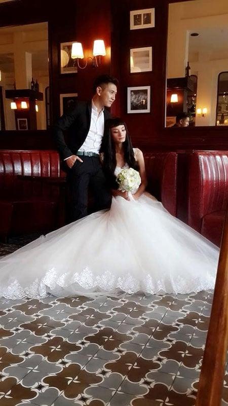 Hình ảnh Lộ loạt ảnh cưới đẹp lung linh của Lê Thúy và bạn trai Việt Kiều số 3