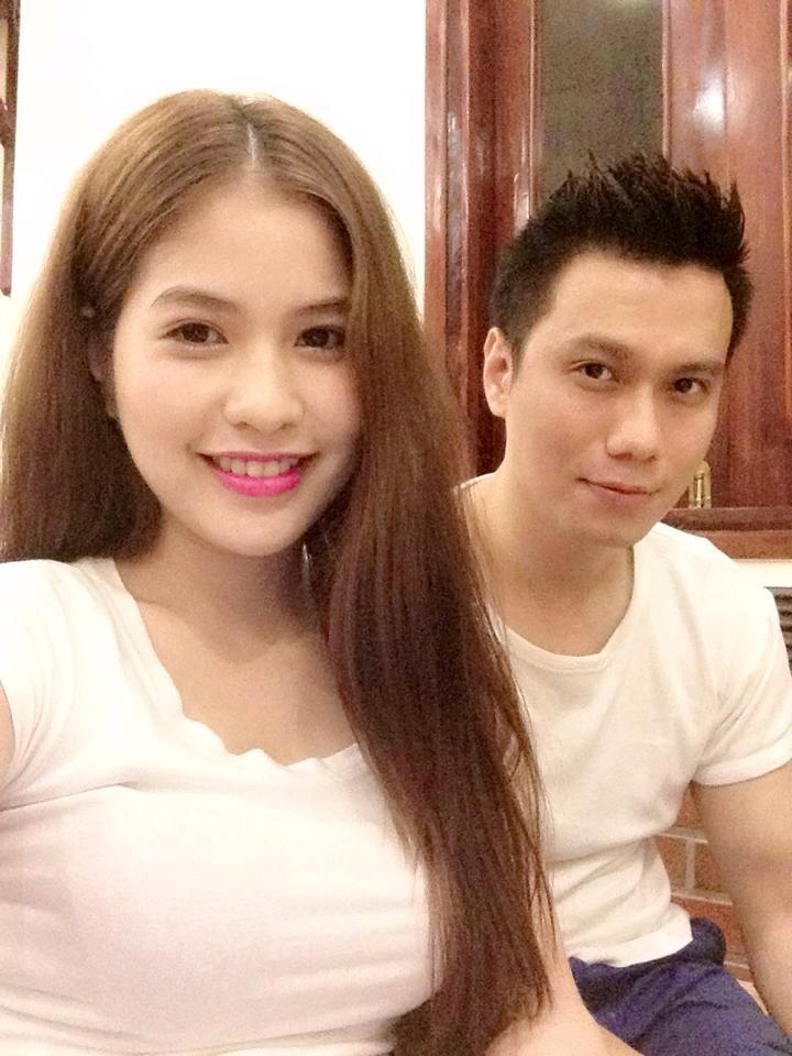 Cận cảnh nhan sắc xinh đẹp của bạn gái diễn viên Việt Anh 7