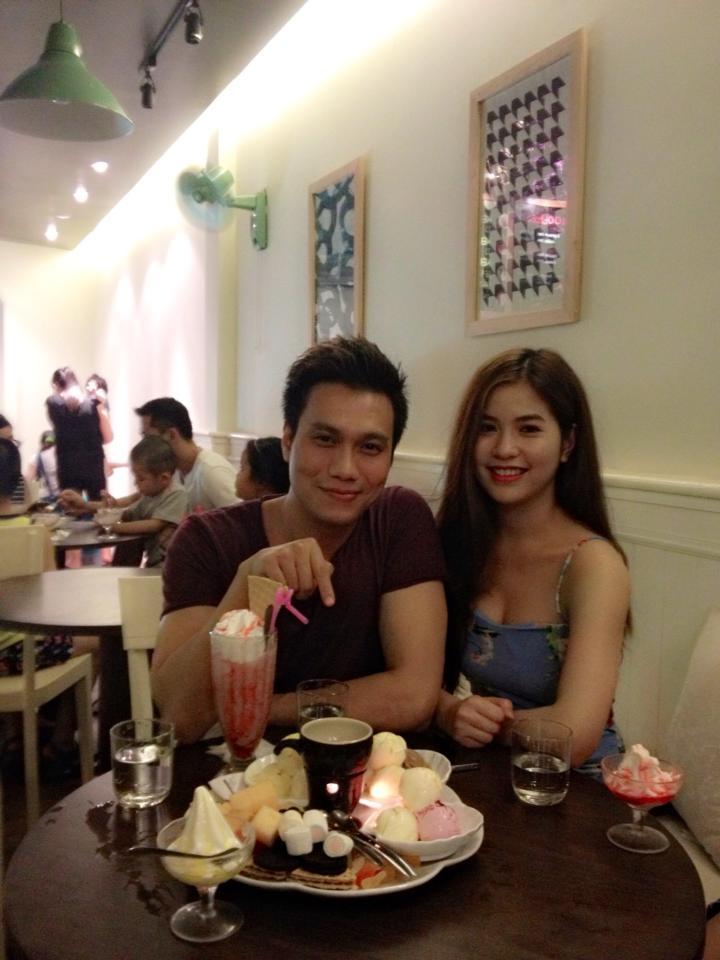 Cận cảnh nhan sắc xinh đẹp của bạn gái diễn viên Việt Anh 8