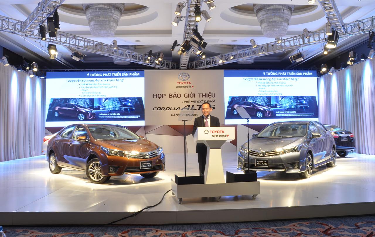Hình ảnh Toyota Corolla Altis 2014 chính thức được ra mắt tại Việt Nam số 1