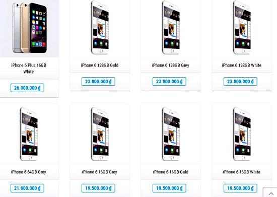 iPhone 6 rớt giá thê thảm, dân buôn khóc ròng 6