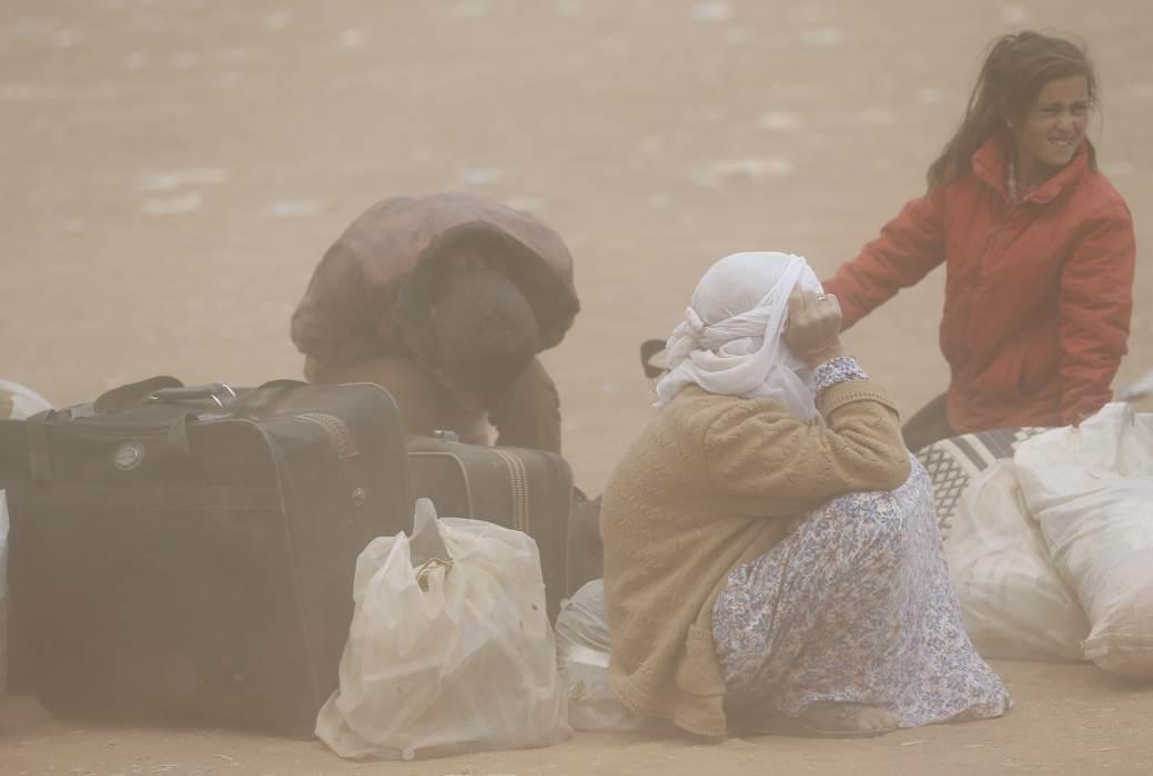 Cảnh dân Syria loạn lạc chạy nạn 3