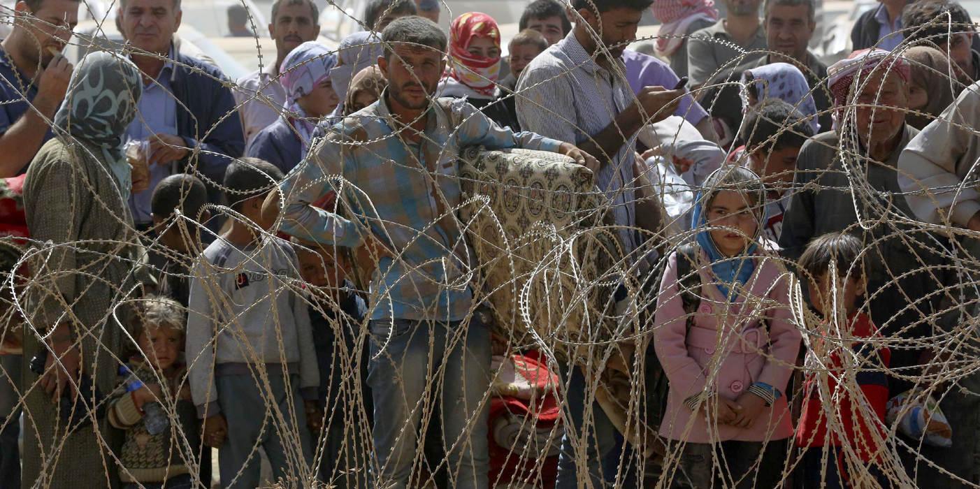 Cảnh dân Syria loạn lạc chạy nạn 1