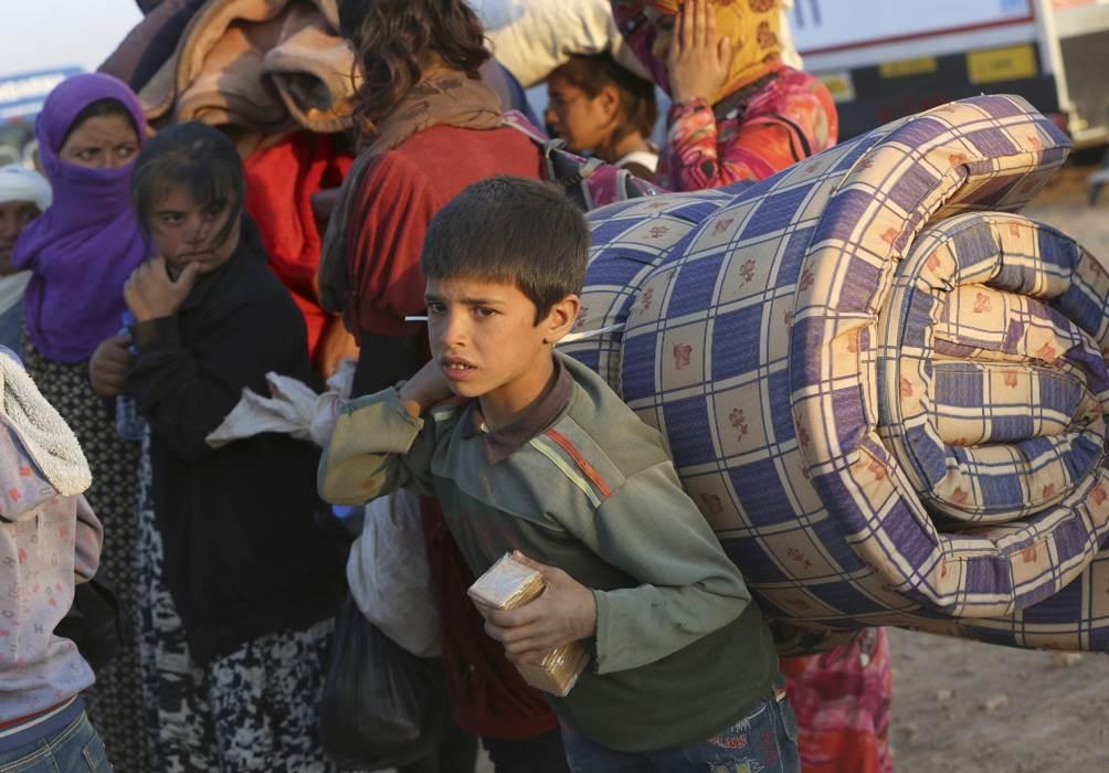 Cảnh dân Syria loạn lạc chạy nạn 7
