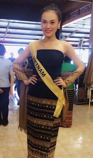 Mặc bị phạt, Cao Thùy Linh vẫn dự thi Hoa hậu Quốc tế 2014 tại Thái Lan 6