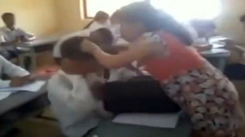 Danh tính cô giáo mang bầu túm tóc, đánh học sinh tới tấp 5