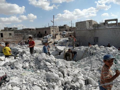 Hai ngày không kích, Syria hứng bom bằng cả tháng ở Iraq  6