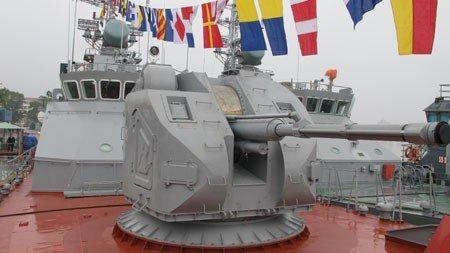 Hải quân Việt Nam tiếp nhận tàu chiến hiện đại 4