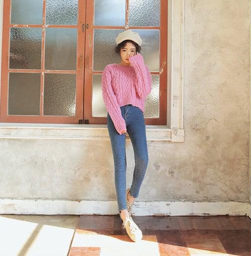 Điệu đà hơn với sự kết hợp tinh tế mẫu áo len năm 2014 9