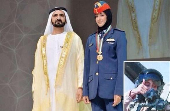 Chùm ảnh: Nữ phi công xinh đẹp UAE dẫn đầu đoàn không kích IS tại Syria 3