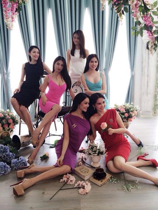 Các chân dài của Vũ Khắc Tiệp tung bộ ảnh mới sau vụ diện bikini quảng cáo 5