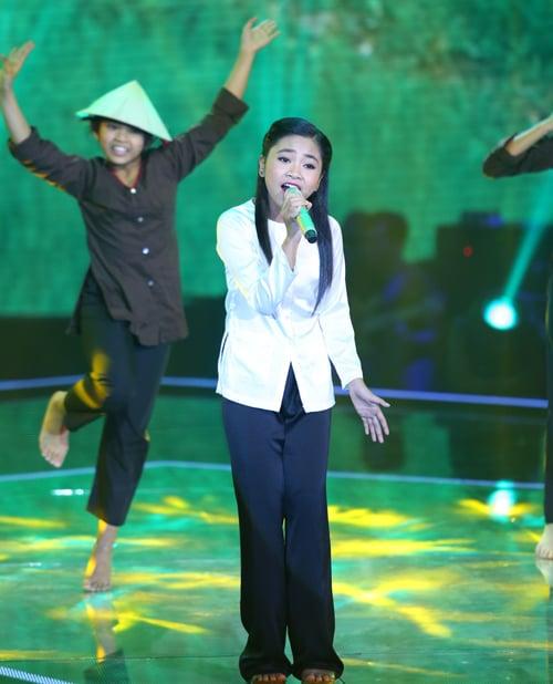 Bán kết giọng hát Việt nhí 2014: Hoàng Anh đánh bại cô bé nhạc Trịnh 10