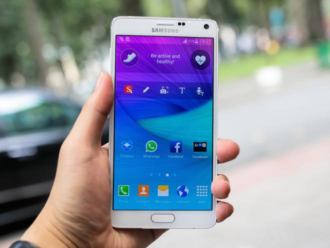 Trên tay Samsung Galaxy Note 4 tại Việt Nam 5