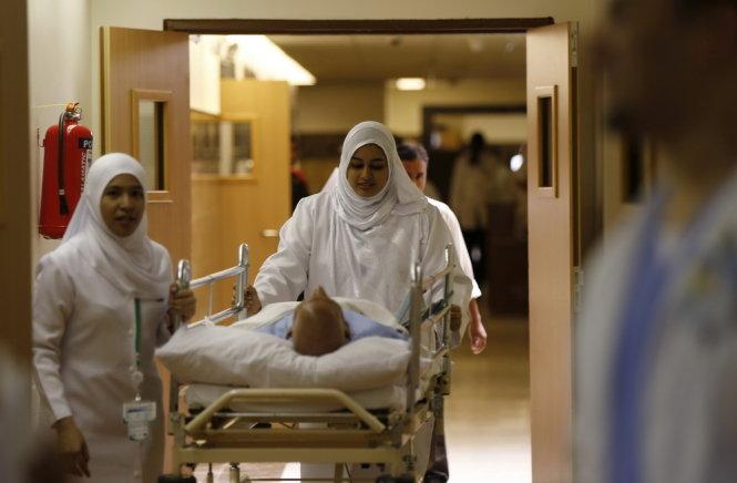 Bệnh nhân Ebola đầu tiên ở nước Mỹ được phát hiện 5