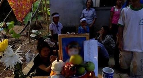 Cảnh khốn cùng của gia đình bé lớp 3 ngã sông vì quá đói 5