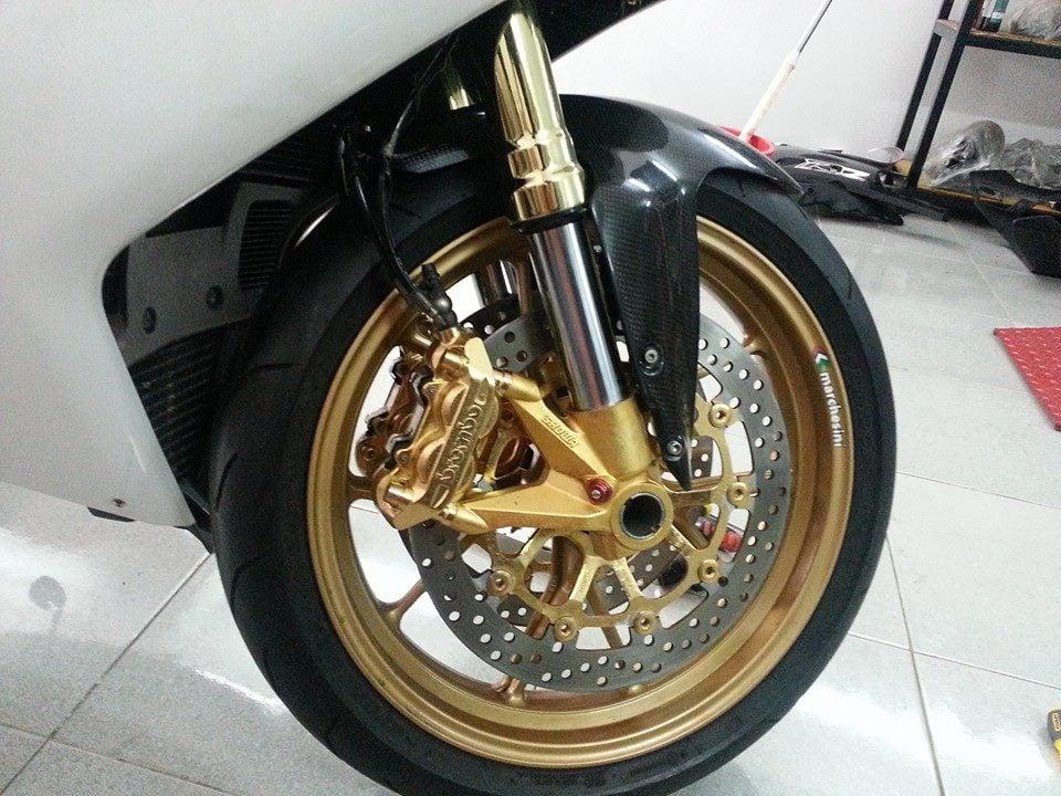 Ducati mạ vàng 24k độc nhất thế giới của đại gia Vũng Tàu 12